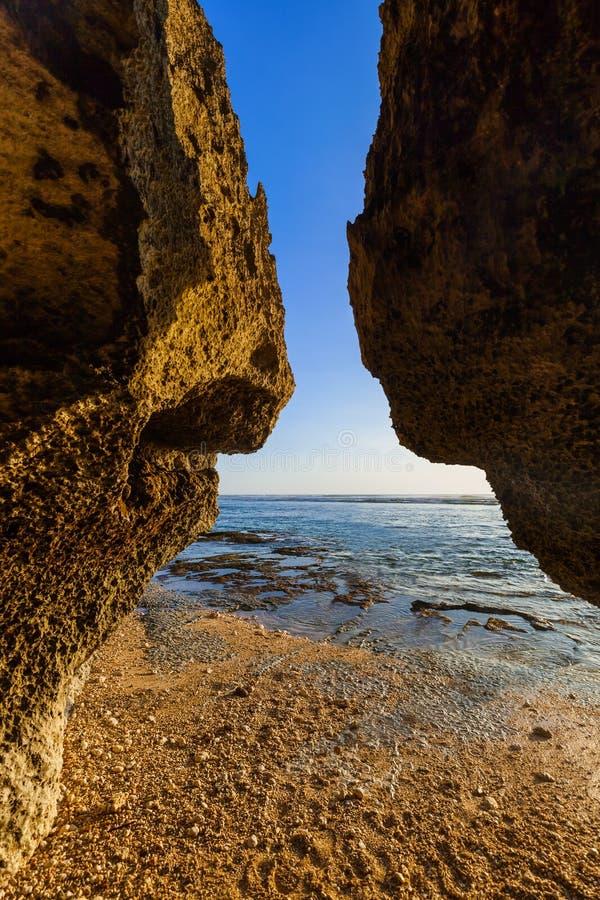 praia Sulubana em Bali - Indonésia imagem de stock royalty free