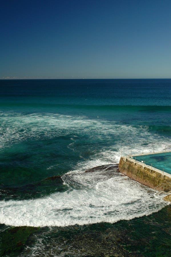 Praia Sydney de Bondi fotografia de stock royalty free