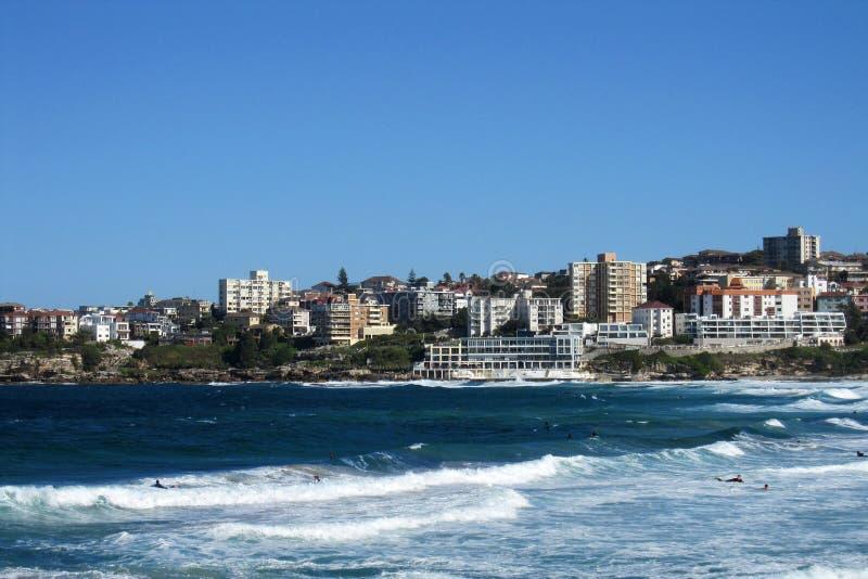 Praia Sydney de Bondi foto de stock royalty free