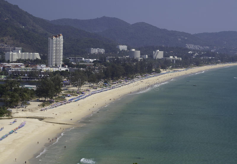 Praia Tailândia de Karon imagens de stock royalty free