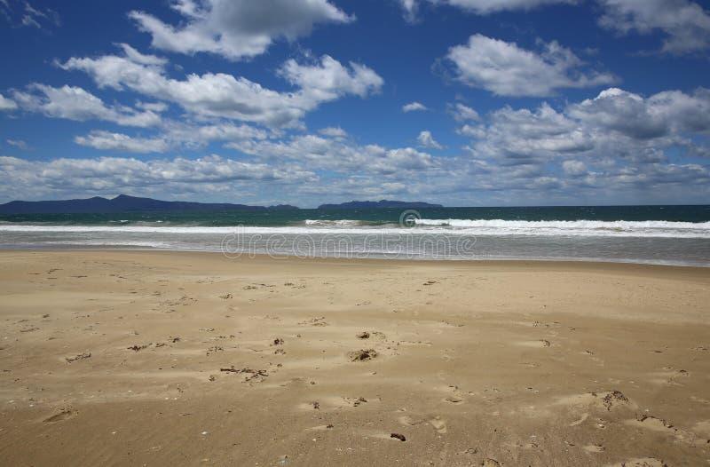 Praia tasmaniana imagem de stock
