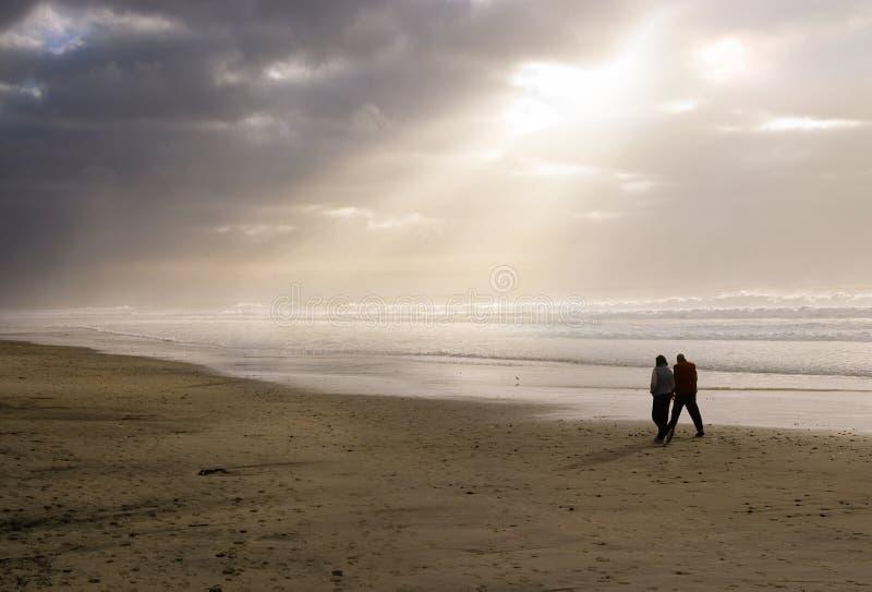 Praia tranquilo foto de stock royalty free