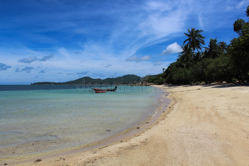 Praia tropical - Langkawi foto de stock