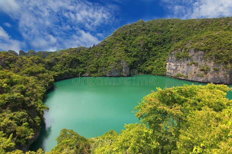 Praia tropical - Langkawi Koh Samui, Tailândia imagens de stock royalty free