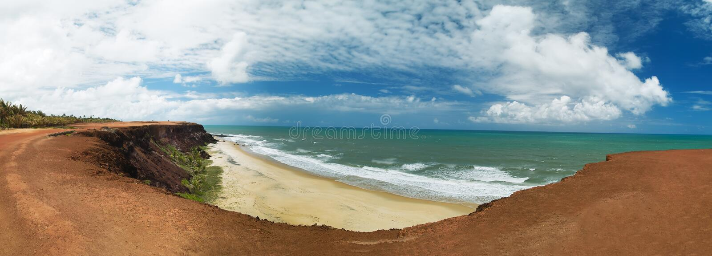 Praia tun Amor, Pipa Brasilien stockbild