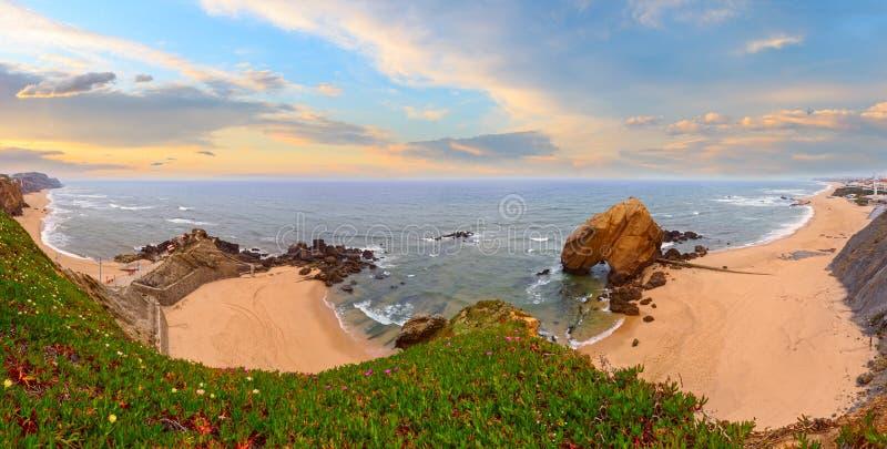 Praia tun Guincho, Santa Cruz, Portugal stockfotografie