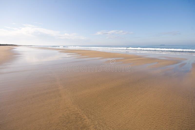 Praia vazia fotos de stock