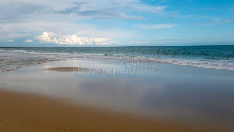 Praia Verde, atlantycka ocean panorama zdjęcie stock