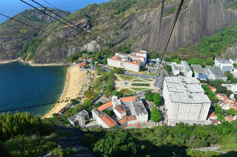 Download Praia Vermelha stock photo. Image of tropical, cable - 26834136