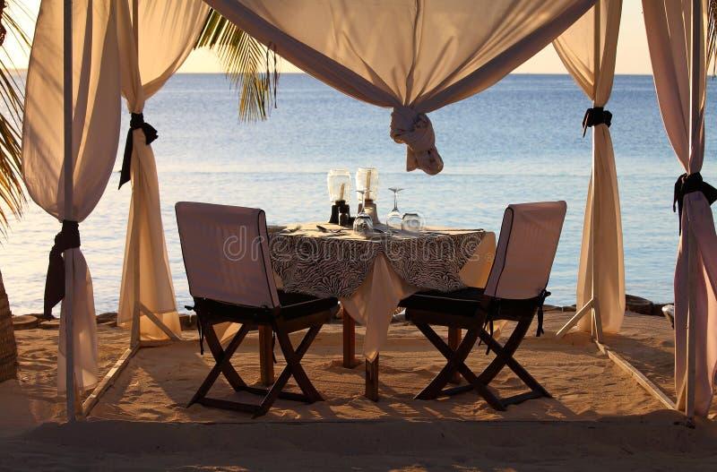 Praia Zanzibar reastaurant imagens de stock royalty free