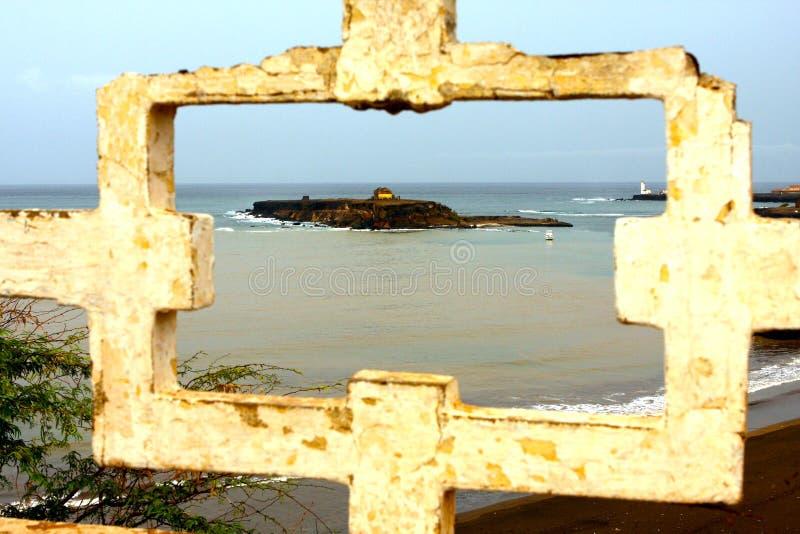 Praiabaai in Kaapverdië royalty-vrije stock fotografie