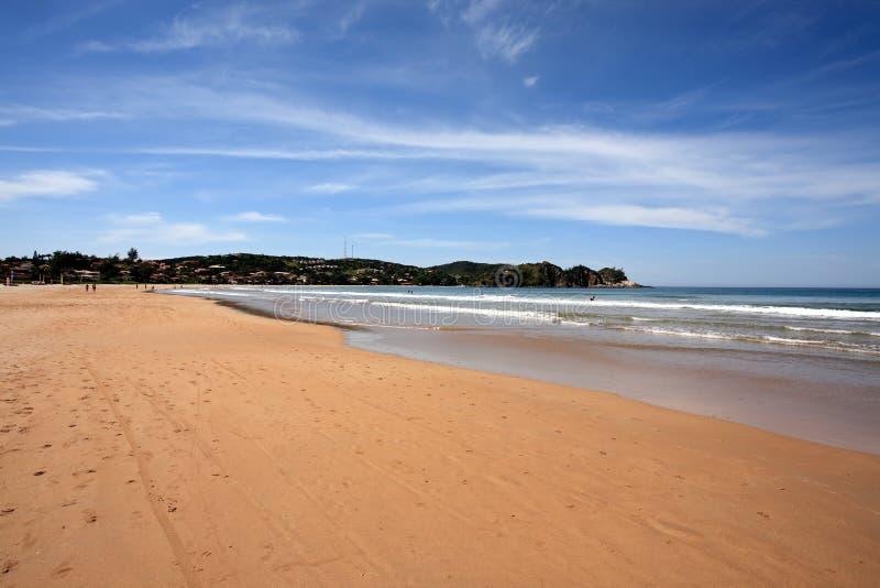 Praiaferradurabuzios Brasilien arkivfoto