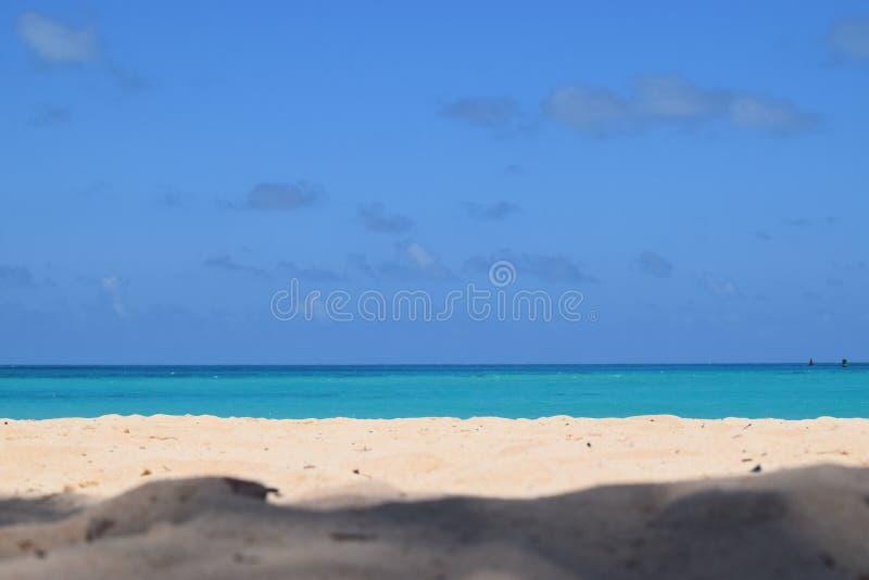 Praias cor-de-rosa da areia de Bermuda fotografia de stock
