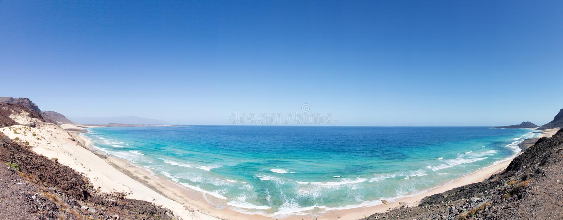 Praias da ilha do Sao Vicente imagem de stock royalty free