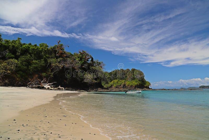 Praias da recompensa em Panamá Chiriqui fotos de stock royalty free
