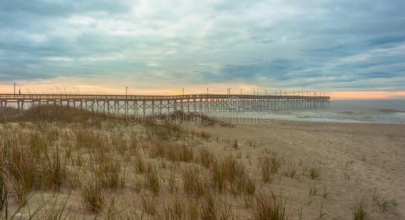 Praias de North Carolina imagem de stock royalty free