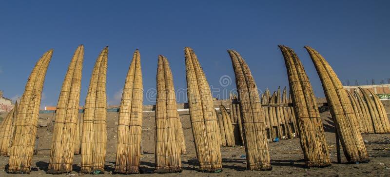 Praias de Pimentel no chiclayo - Peru imagem de stock royalty free