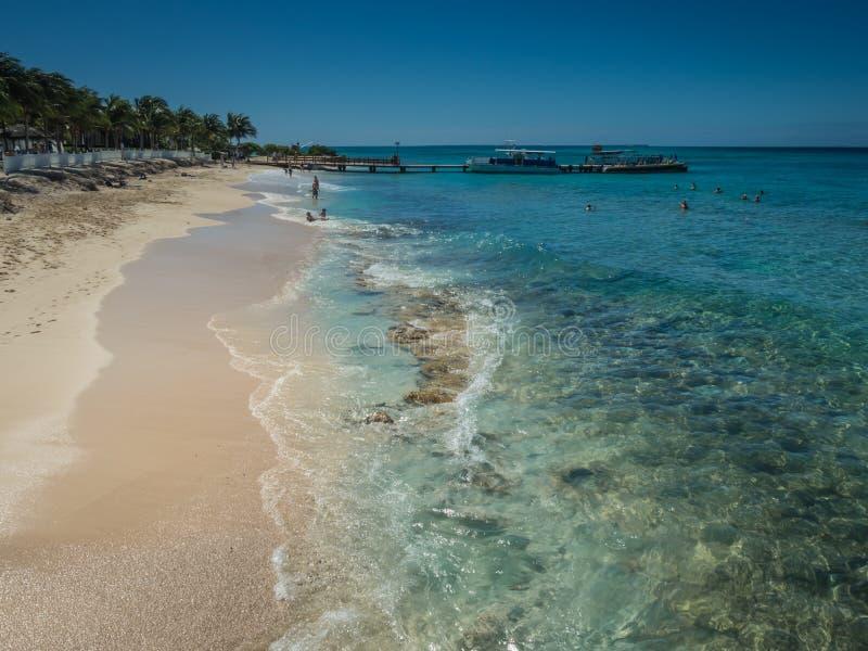 Praias de Turk Island grande foto de stock