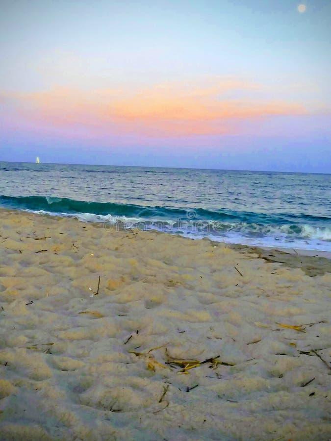 Praias de Wilmington imagens de stock royalty free