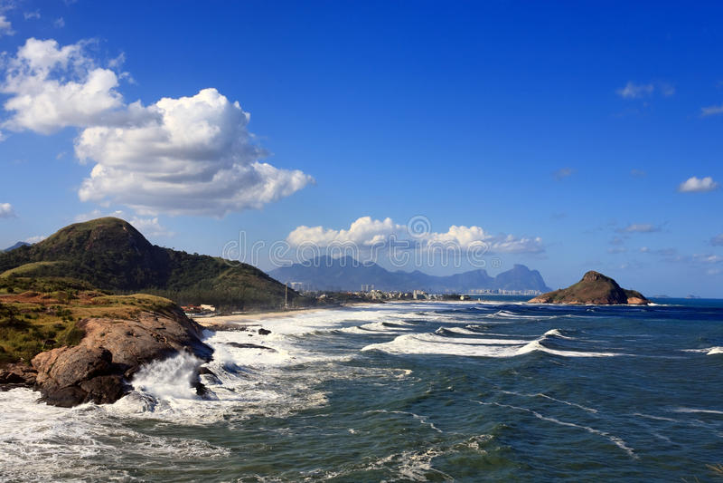 Prainha beach royalty free stock photography