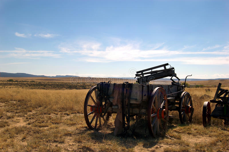 Download On the Prairie stock photo. Image of transportation, wagon - 17041672