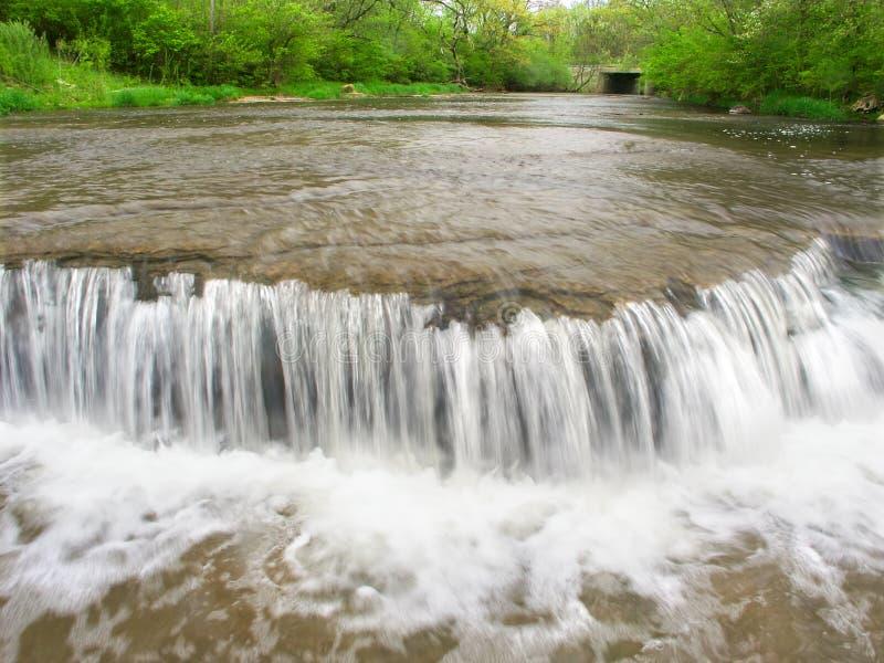 Prairie Creek Falls Illinois Royalty Free Stock Images