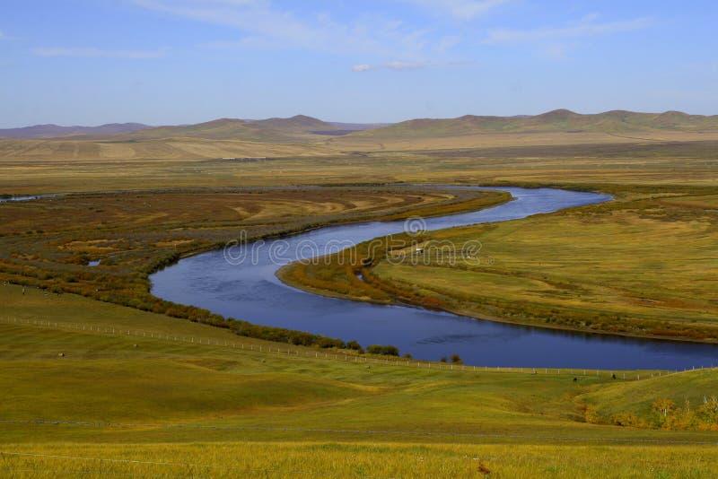 Prairie de l'Inner Mongolia photographie stock libre de droits