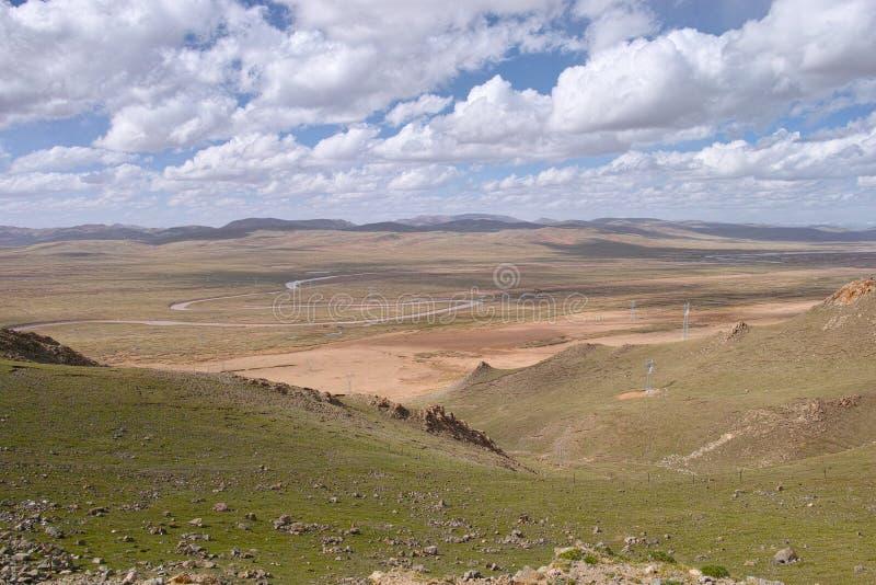 Prairie de montagne images stock