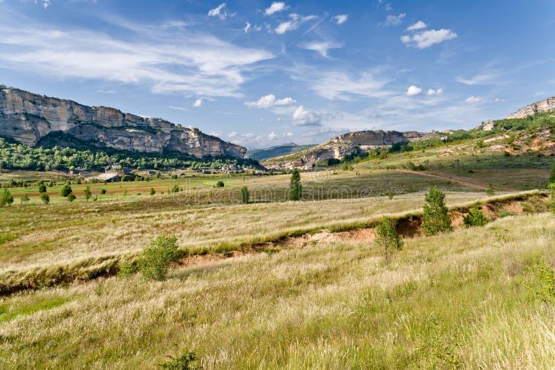 Prairie In La Noguera, Catalonia Stock Images