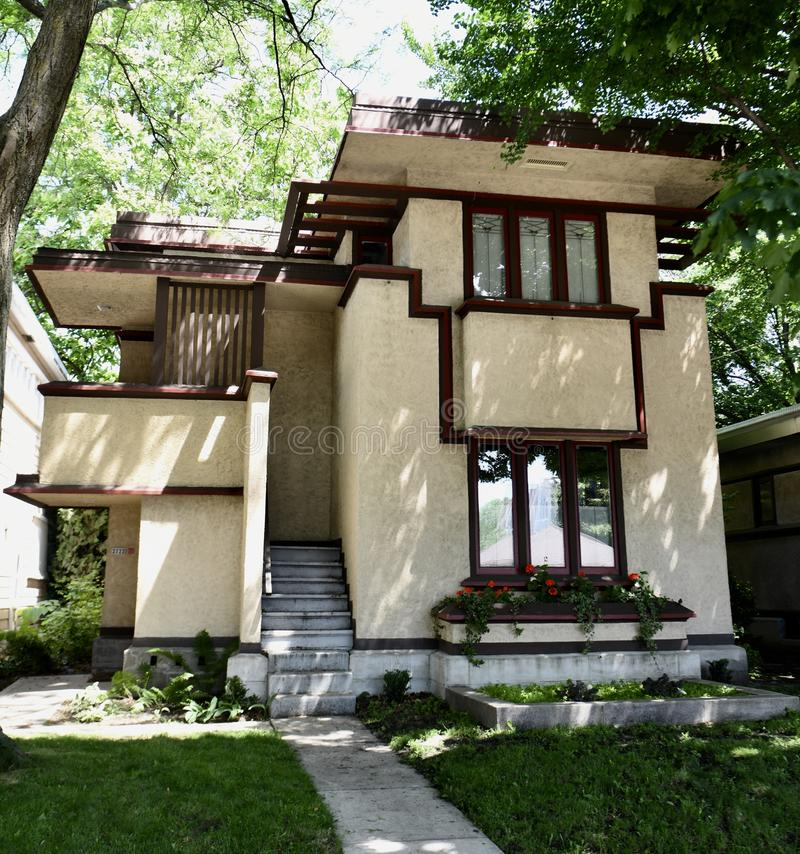Free Prairie School Low Income Home Stock Photo - 119828180