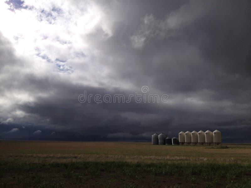 Prairie Storm stock photos