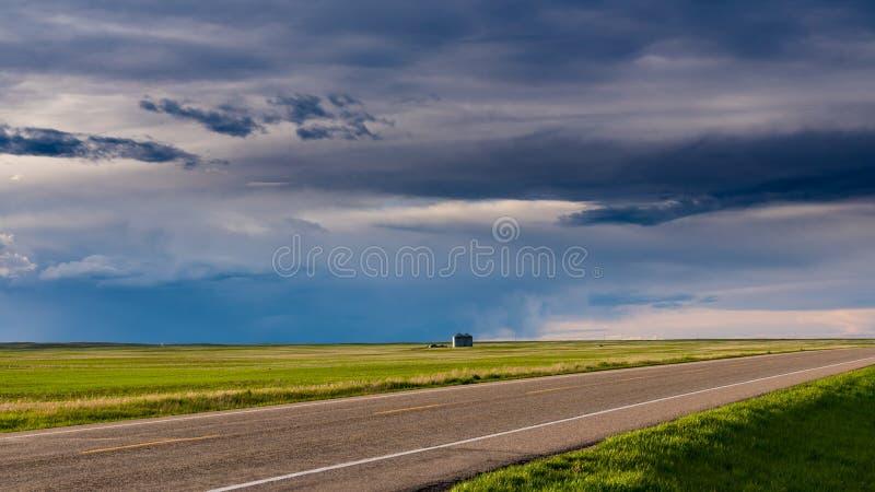 Prairielandschappen stock afbeelding