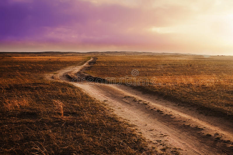 prairies fotografia stock