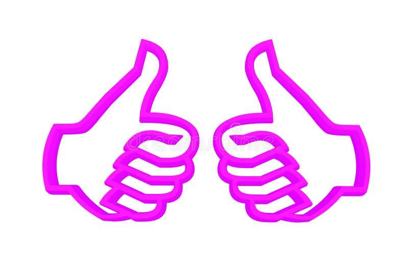 Download Praise gestures stock illustration. Image of illustration - 10552284