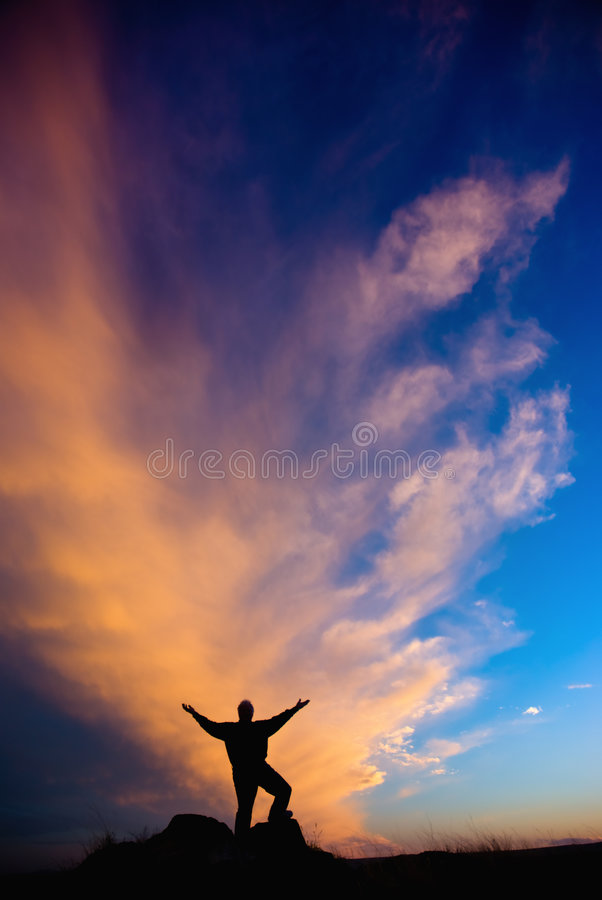 In Praise Of Nature Royalty Free Stock Image