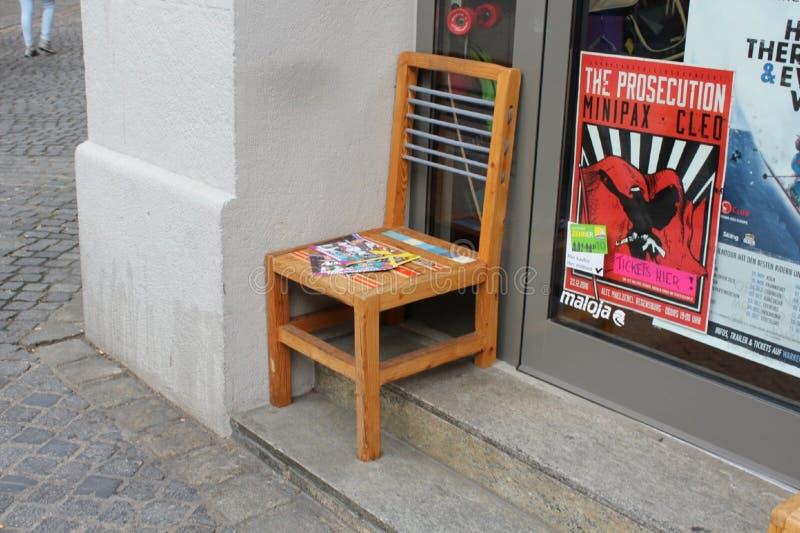 Praktyczny krzesło w Regensburg obraz royalty free