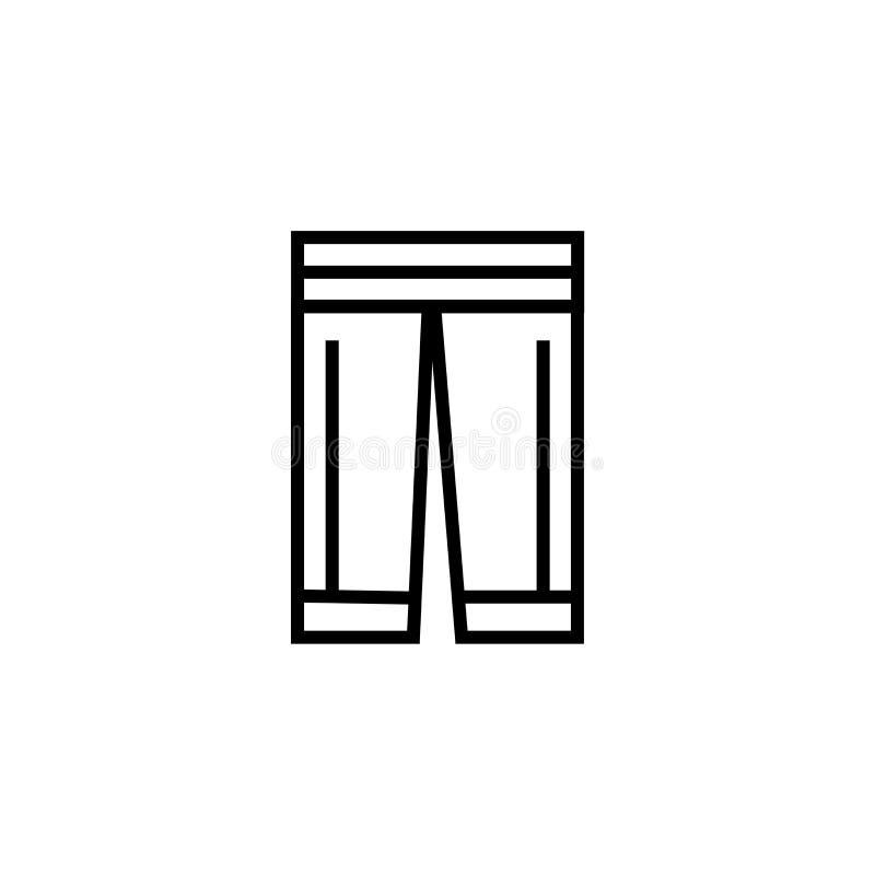 Praktyk spodń ikony wektoru znak i symbol odizolowywający na białym tle, praktyk spodń logo pojęcie royalty ilustracja