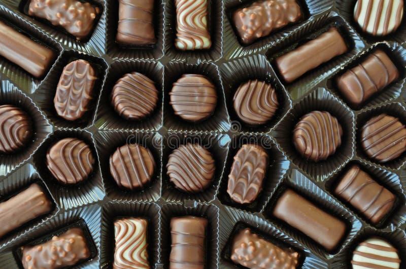 Praline czekolady fotografia stock