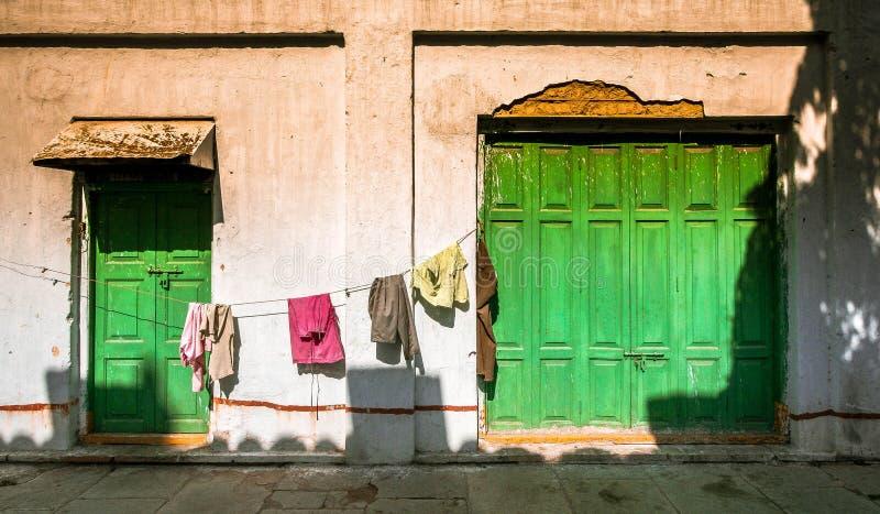 Pralnia w Mumbai, India fotografia stock