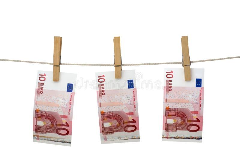 pralniczy pieniądze obraz stock