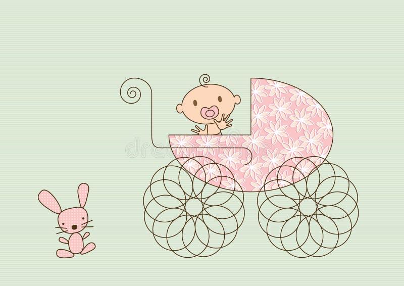 pram младенца бесплатная иллюстрация