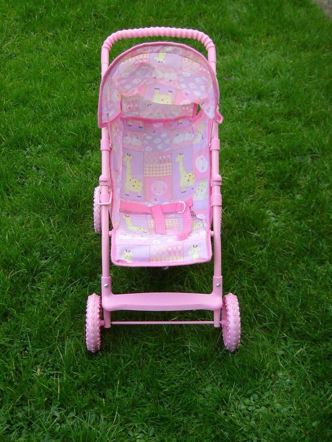 Download Pram cor-de-rosa imagem de stock. Imagem de cadeira, somente - 56699