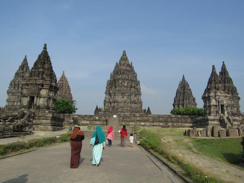 PRAMBANAN świątyni kompleks obrazy stock