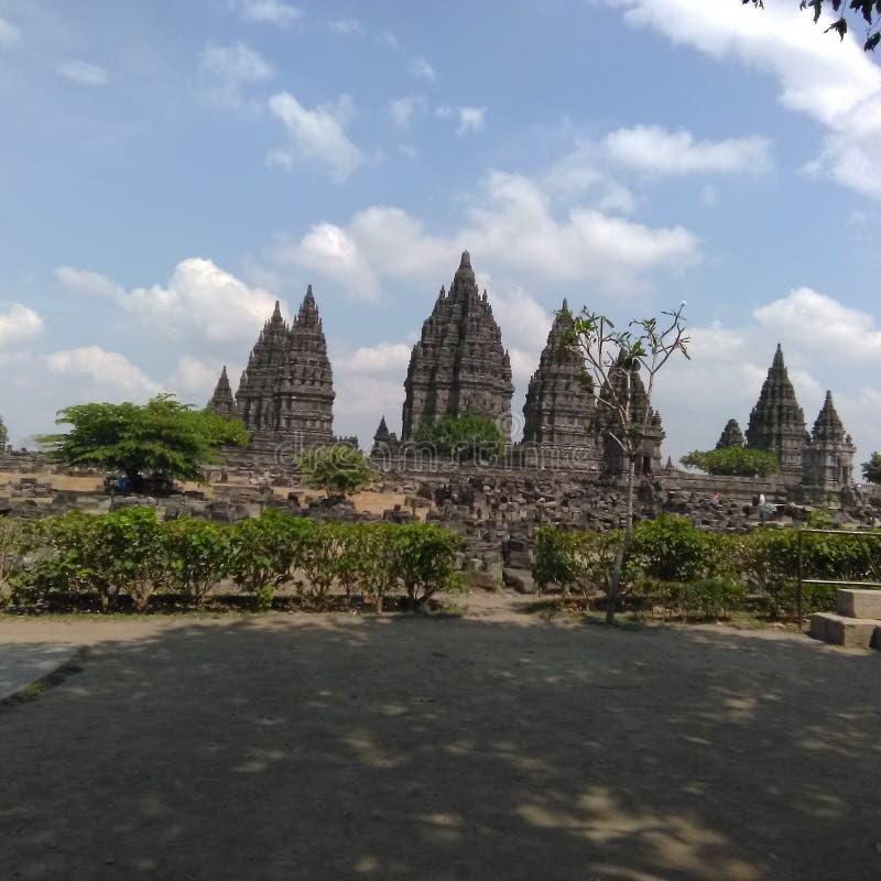 Prambanan świątynia, Indonezja zdjęcia royalty free