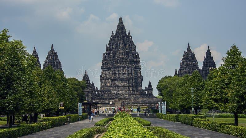 Prambanan świątynia w Jawa zdjęcie royalty free