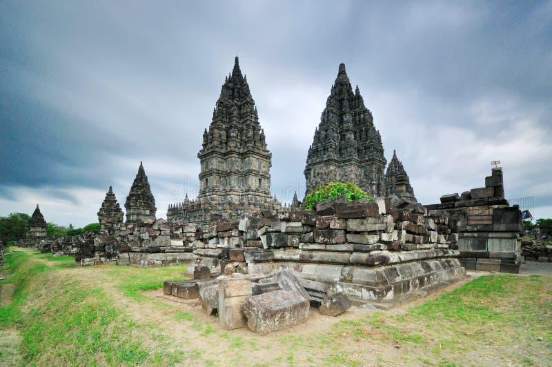 Prambanan Świątynny Ramayana, Jogjakarta obrazy royalty free