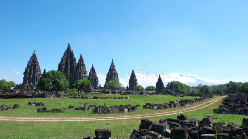 prambanan ναός ενώσεων στοκ φωτογραφία με δικαίωμα ελεύθερης χρήσης