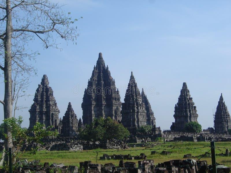 prambanan ναός στοκ φωτογραφία