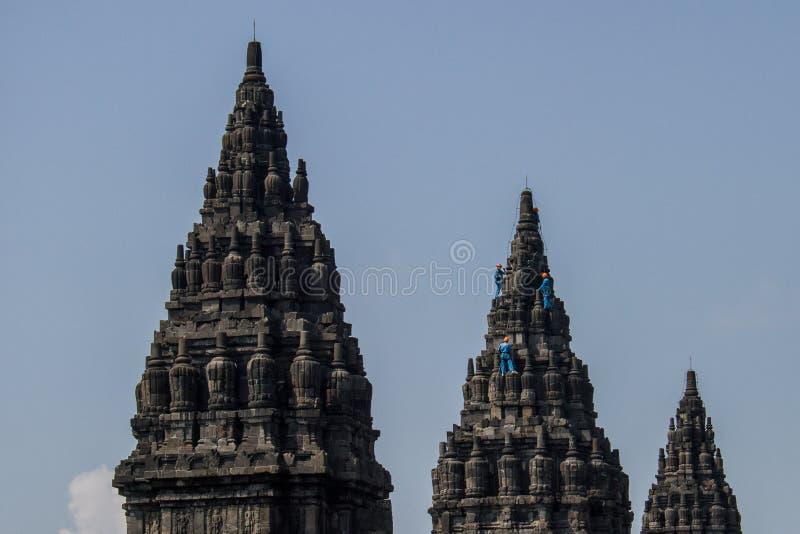 prambanan ναός στοκ φωτογραφίες με δικαίωμα ελεύθερης χρήσης