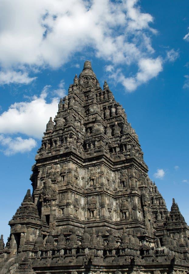 prambanan висок стоковое изображение rf